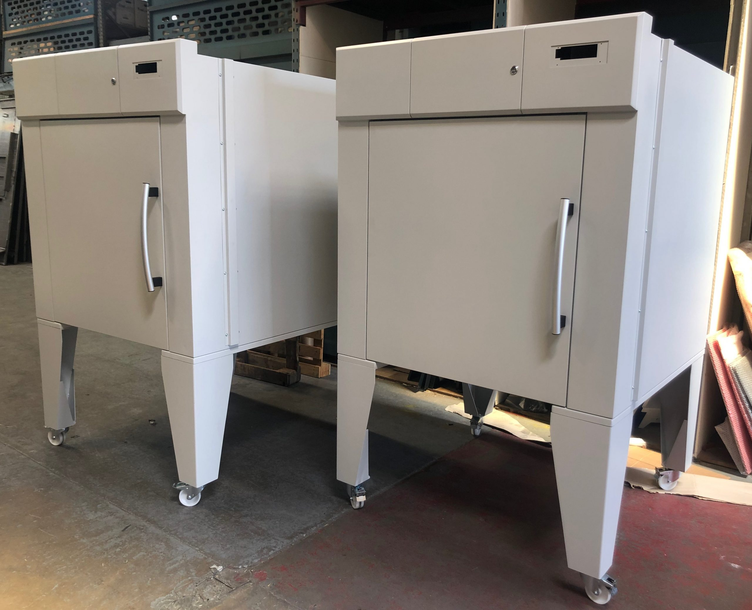 Metal Cabinets with Wheels